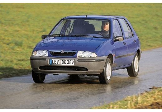 MAZDA 121 hatchback fioletowy przedni lewy