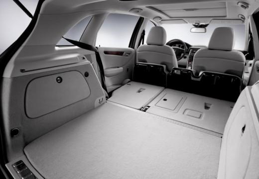 MERCEDES-BENZ Klasa B II hatchback przestrzeń załadunkowa