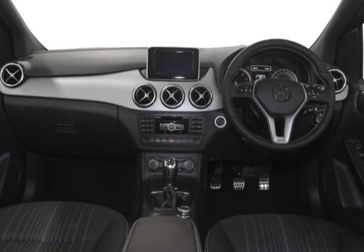 MERCEDES-BENZ Klasa B III hatchback tablica rozdzielcza