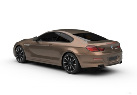 BMW Seria 6 coupe tylny lewy