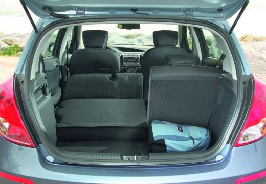 HYUNDAI i20 II hatchback przestrzeń załadunkowa
