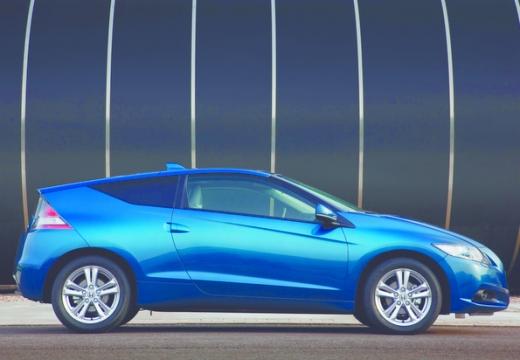 HONDA CR-Z coupe niebieski jasny boczny prawy