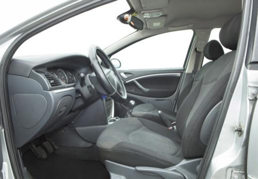 CITROEN C5 II hatchback silver grey wnętrze