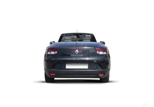 RENAULT Megane III CC kabriolet czarny tylny