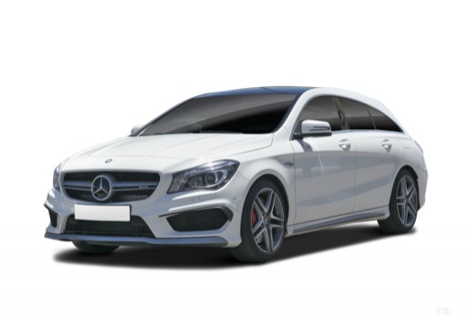 MERCEDES-BENZ CLA 45 AMG 4-Matic Kombi Shooting Brake 2.0 360KM (benzyna)