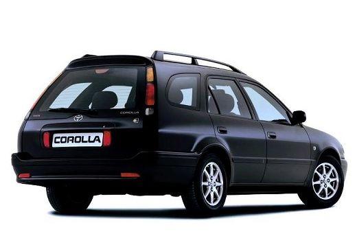 Toyota Corolla kombi czarny tylny prawy