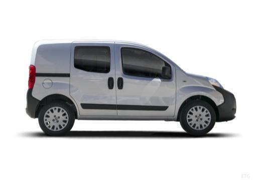 FIAT Fiorino kombi silver grey boczny prawy