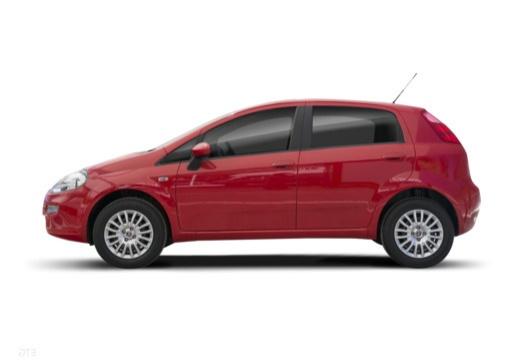 FIAT Punto II hatchback czerwony jasny boczny lewy