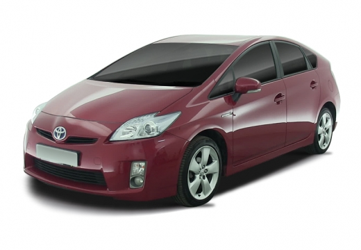 Toyota Prius II hatchback czerwony jasny