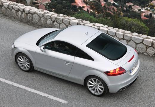 AUDI TT coupe silver grey tylny lewy