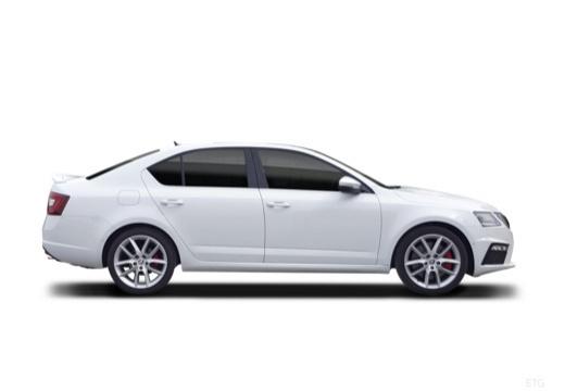 SKODA Octavia hatchback boczny prawy