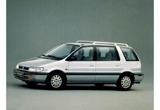 MITSUBISHI Space Wagon II van silver grey przedni lewy