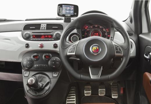 FIAT 500 C I kabriolet tablica rozdzielcza