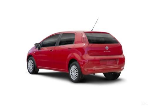 FIAT Punto II hatchback czerwony jasny tylny lewy