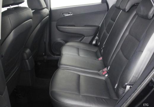 HYUNDAI i30 II hatchback czarny wnętrze