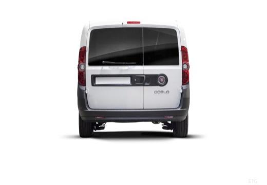 FIAT Doblo III kombi biały tylny