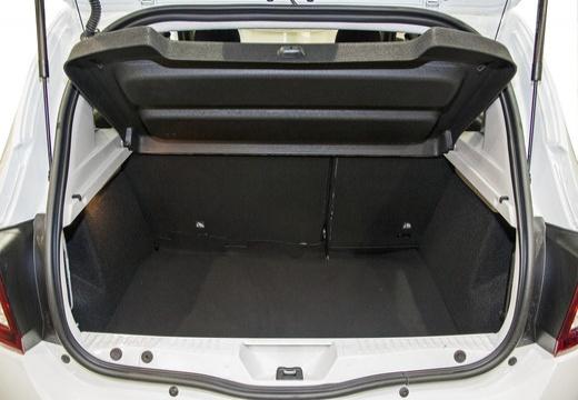 DACIA Sandero II hatchback przestrzeń załadunkowa