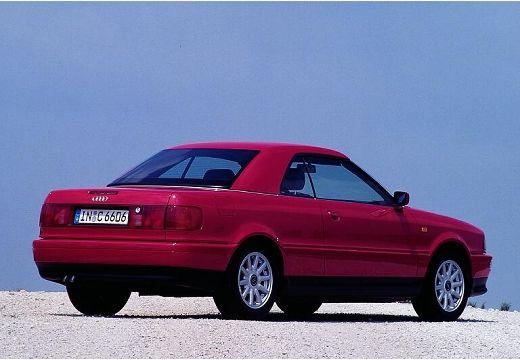 AUDI 80 kabriolet fioletowy tylny prawy