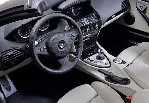 BMW Seria 6 Cabriolet E64 I kabriolet tablica rozdzielcza