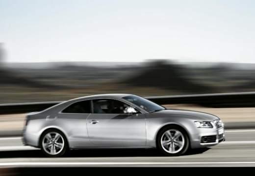 AUDI A5 I coupe silver grey boczny prawy