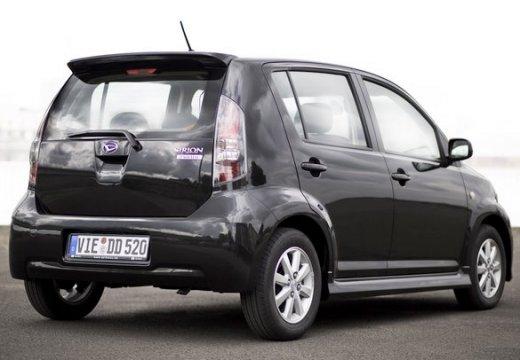 DAIHATSU Sirion III hatchback czarny tylny prawy