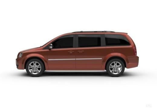 DODGE Grand Cara van boczny lewy