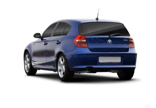 BMW Seria 1 E87 II hatchback tylny lewy