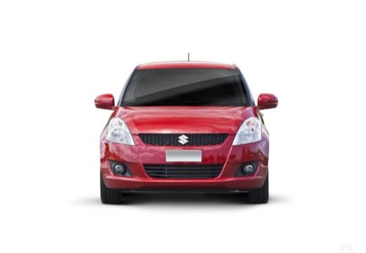 SUZUKI Swift III hatchback czerwony jasny przedni