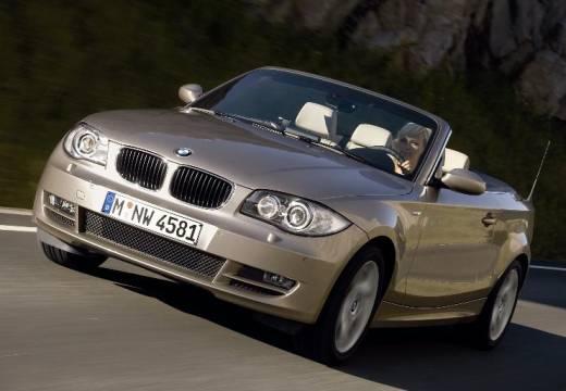 BMW Seria 1 kabriolet beige przedni lewy