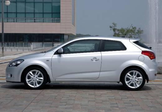 KIA Ceed Proceed II hatchback silver grey boczny lewy