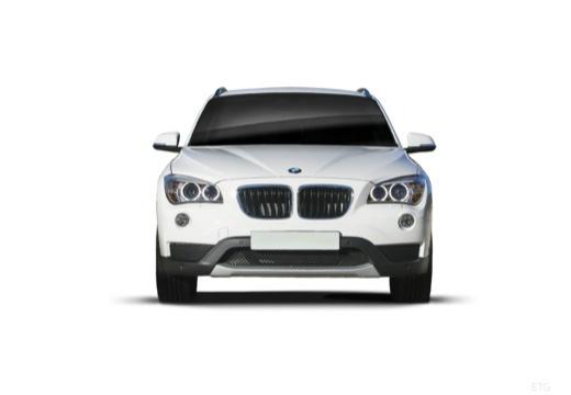 BMW X1 X 1 E84 II kombi biały przedni
