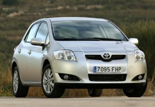 Toyota Auris I hatchback silver grey przedni prawy