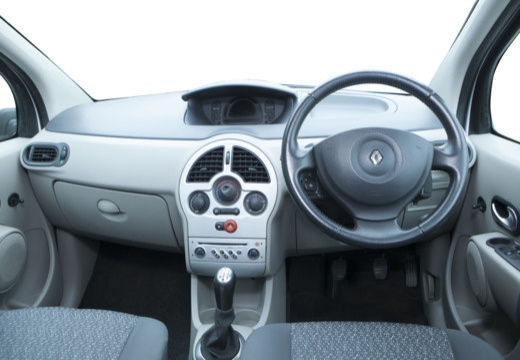 RENAULT Modus I hatchback niebieski jasny tablica rozdzielcza