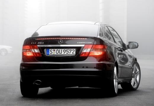 MERCEDES-BENZ Klasa CLC coupe czarny tylny prawy