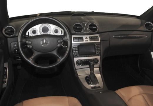 MERCEDES-BENZ Klasa CLK CLK Cabriolet A 209 II kabriolet tablica rozdzielcza