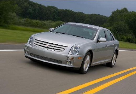 CADILLAC STS sedan silver grey przedni lewy