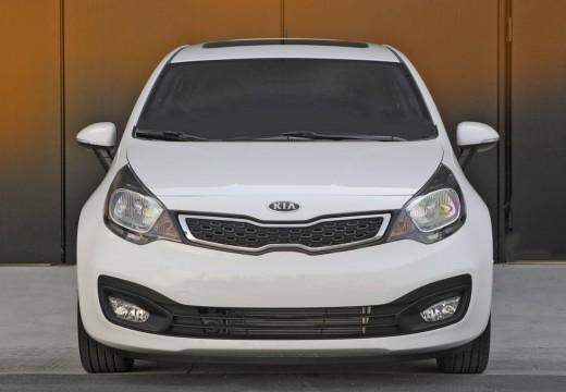 KIA Rio V sedan biały przedni
