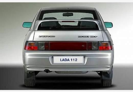 LADA 112 I hatchback silver grey tylny