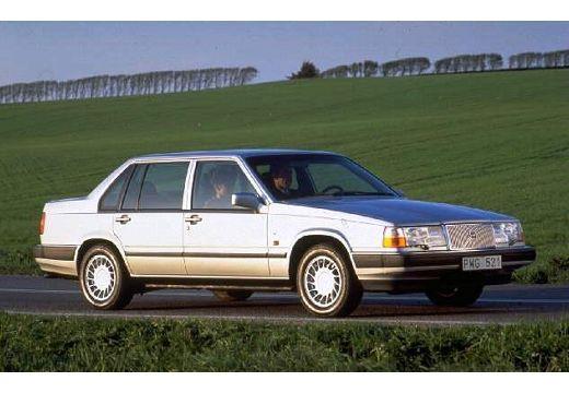 VOLVO 960 sedan silver grey przedni prawy