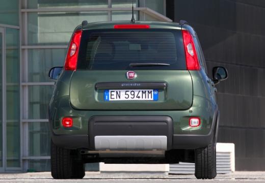 FIAT Panda III hatchback zielony tylny
