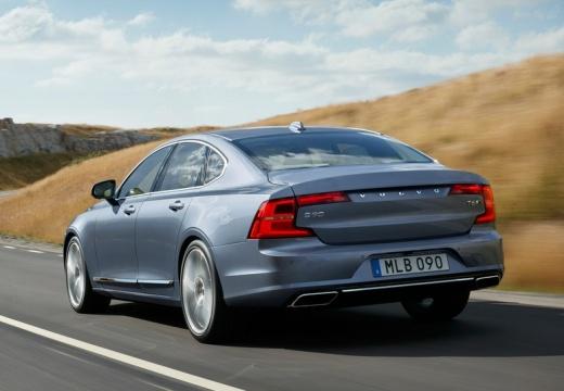 VOLVO S90 I sedan niebieski jasny tylny lewy