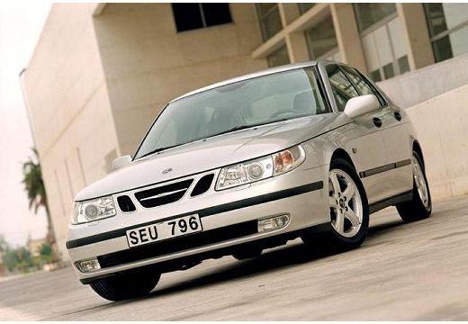 SAAB 9-5 II sedan silver grey przedni lewy