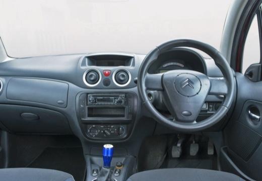 CITROEN C3 II hatchback czerwony jasny tablica rozdzielcza