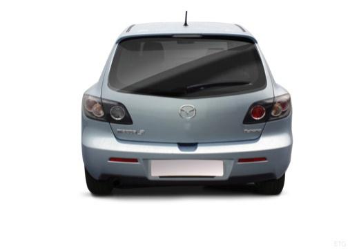 MAZDA 3 II hatchback tylny