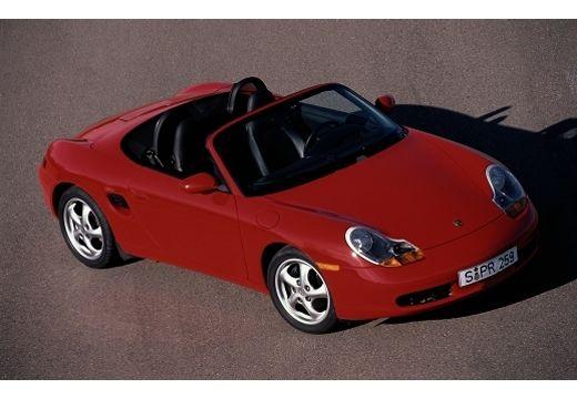 PORSCHE Boxster 986 roadster czerwony jasny przedni prawy