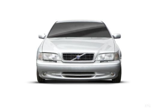VOLVO C70 coupe silver grey przedni
