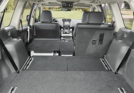 Toyota Land Cruiser V8 II kombi przestrzeń załadunkowa