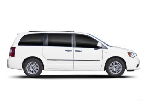 LANCIA Voyager I van biały boczny prawy