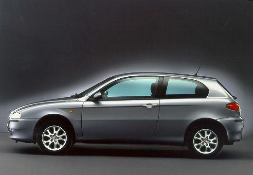ALFA ROMEO 147 hatchback szary ciemny boczny lewy