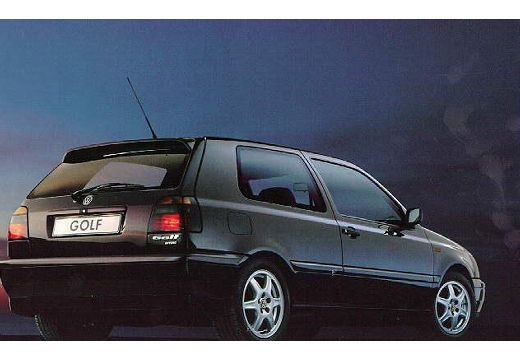 VOLKSWAGEN Golf III hatchback tylny prawy